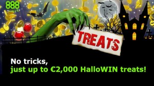 888 casino's hallowing promotion