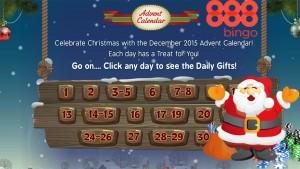 888 bingo advent calendar
