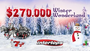 Intertops Casino Winter Wonderland