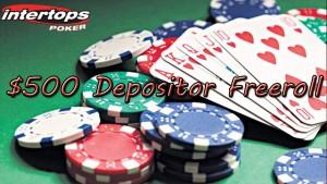 Intertops Poker Depositor Freeroll