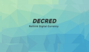 Cryptocurrency Decred