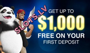 Slots.lv welcome bonus
