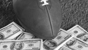 Football Players Gambling