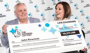 lottery jackpot winning