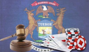 can you play online poker in Michigan