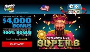 US online casino signup bonus