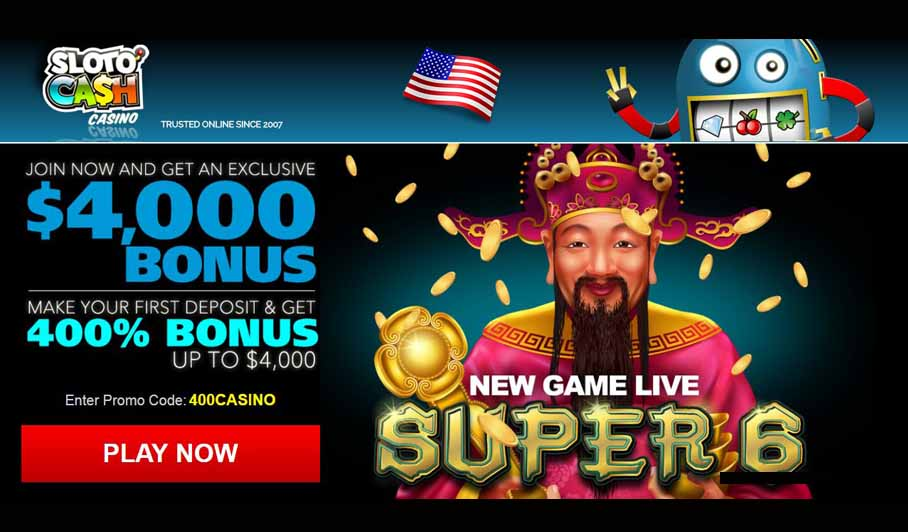 Online casino 400 deposit bonus