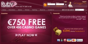 Ruby Fortune Casino Review 1