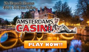Amsterdams Casino no deposit bonus