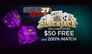 Play Super 21 Blackjack