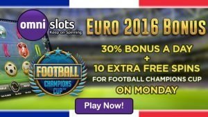 Omni Slots Euro 2016 Bonus