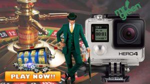 Mr Green Casino GoPro Camera