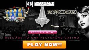 PlayGrand Casino Free Spins