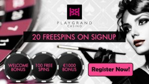 PlayGrand Casino Welcome Bonus