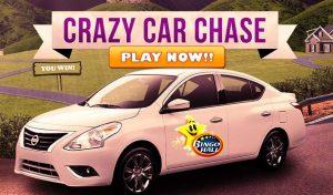 win a Nissan Versa Sedan