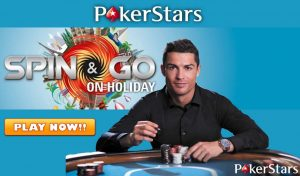 pokerstars spin and go cristiano ronaldo