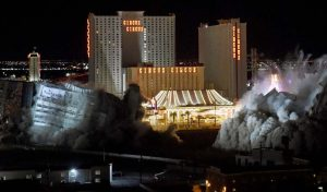 Riviera Casino implosion