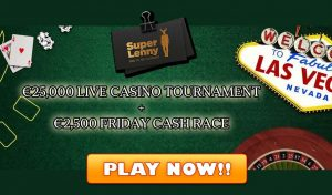 casino live tournament