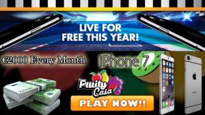 Fruity Casa Casino Bonus