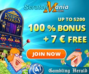 scratchmania welcome bonus