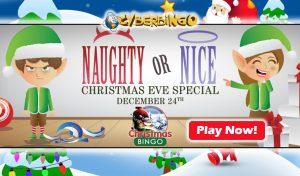 Christmas Bingo Bonus - CyberBingo
