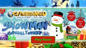 CyberBingo Christmas Bingo Tourney