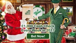 Mr Green Casino €1000 Cash Every Week