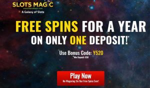 Slots Magic Casino Welcome Bonus