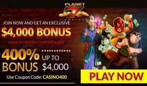 Planet7 Casino Review