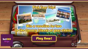 Bet365 Bingo Giveaway - Canary Islands