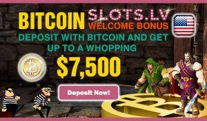 Bitcoin Welcome Bonus - Slots.lv