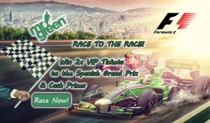 Casino Giveaways - Mr Green Casino Formula 1 Spanish Grand Prix