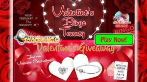 CyberBingo Valentines Day Bonus