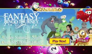 Fantasy Bingo Tourney - CyberBingo