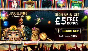 Jackpot Mobile Casino Review