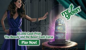 Mr Green Casino Cash Prize - The Beauty and the Beast Slot