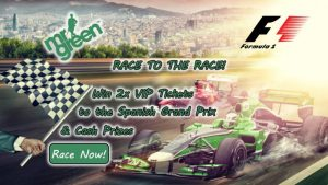 Mr Green Casino F1 Tickets