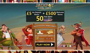 No Deposit Mobile Bonus - Jackpot Mobile Casino