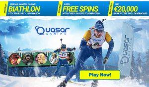 Online Casino Tournament - Quasar Gaming Biathlon