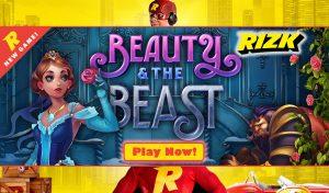 Online Slot Tournament - Beauty and the Beast slot (Rizk Casino)
