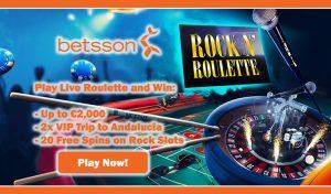 Betsson Live Roulette (Betsson Casino Review)