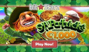 Casino Cash Race - BitStarz Casino (St Patricks Day)