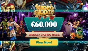 Casino Cash Race - Videoslots Casino