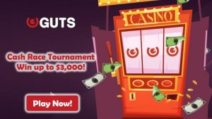 Guts Casino Cash Race