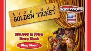 Intertops Casino Golden Ticket