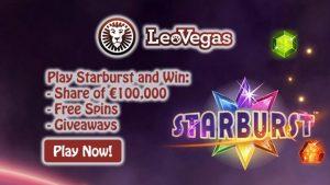 LeoVegas €100,000 Online Casino Tournament