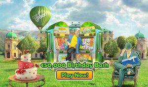 Online Slot Tournament - Mr Green Casino Birthday Bash