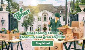 Online Slot Tournament - Slots Spring Clean (Mr Green Casino)