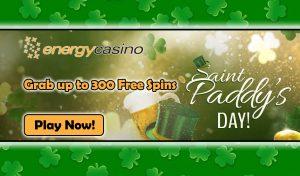 Online Slot Tournament (St Patricks Day) EnergyCasino