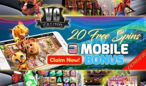 USA Mobile Bonus - Vegas Crest Casino Mobile Bonus